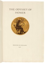 LAWRENCE, T.E. | The Odyssey of Homer, 1932, 1/530 copies