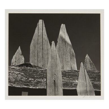 View 1. Thumbnail of Lot 97. ANSEL ADAMS | 'PICKET FENCE'.