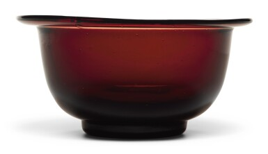 A RUBY-RED GLASS BOWL | QING DYNASTY, 18TH/19TH CENTURY