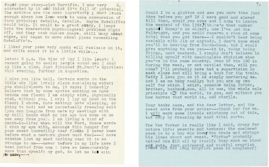 """View 4. Thumbnail of Lot 9. Sylvia Plath 