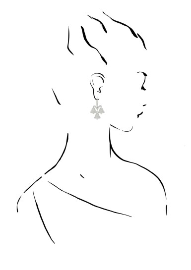 View 4. Thumbnail of Lot 39. MICHELE DELLA VALLE | PAIR OF DIAMOND EARRINGS.