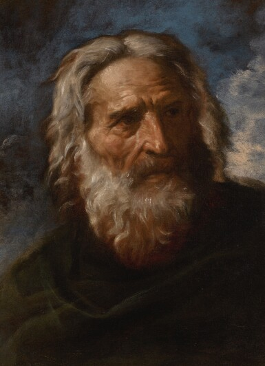 PIER FRANCESCO MOLA | Portrait of a bearded man, possibly the artist's father