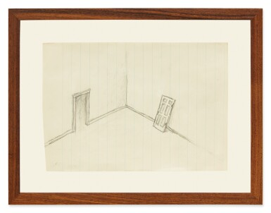 View 2. Thumbnail of Lot 122. Untitled (Door).