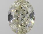 A 1.01 Carat Oval-Shaped Diamond, O-P Color, SI2 Clarity