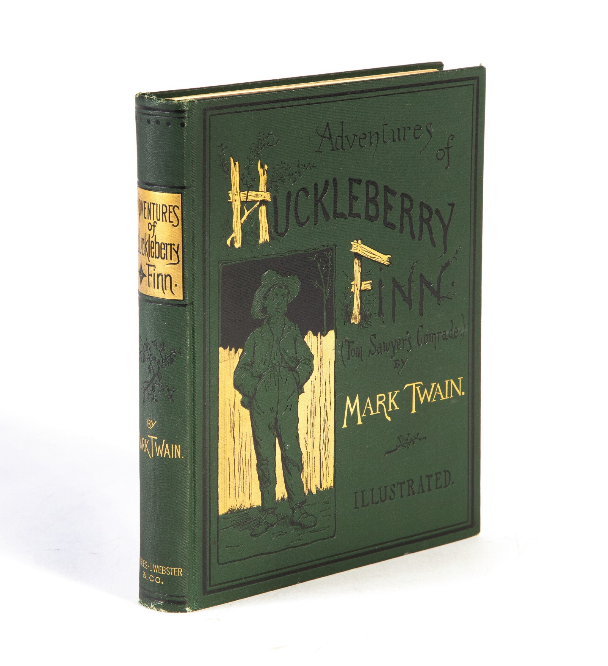"""View full screen - View 1 of Lot 29. Clemens, Samuel Langhorne 