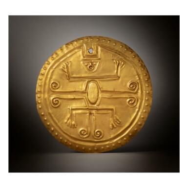 QUIMBAYA GOLD PECTORAL CIRCA AD 500-1000