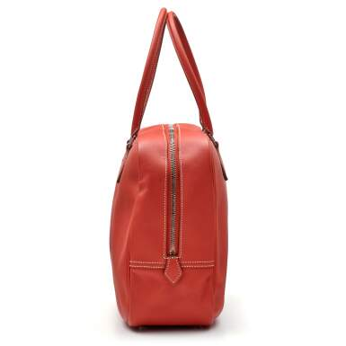 View 3. Thumbnail of Lot 319. Rose Pivoine Plume 32cm in Swift Leather with Palladium Hardware, 2015.