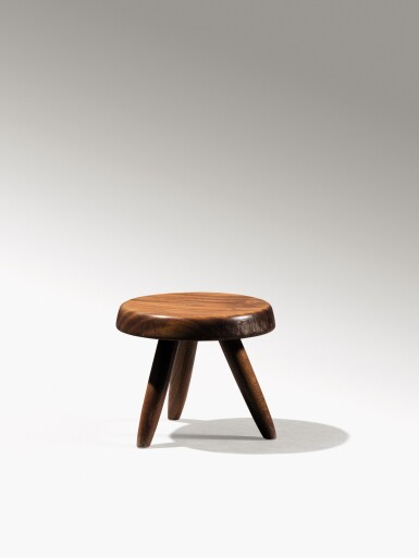 View 2. Thumbnail of Lot 14. Berger stool, designed in 1953.