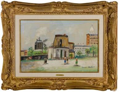 View 2. Thumbnail of Lot 82. Tour du Philosophe et Moulin de la Galette, Montmartre.