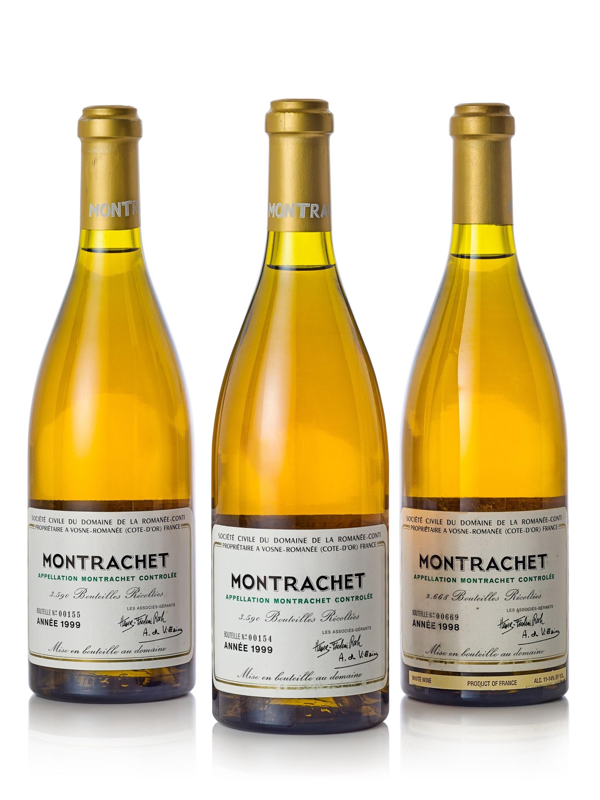 Montrachet 1999 Domaine de la Romanée-Conti (2 BT)