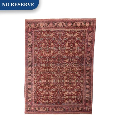 View 1. Thumbnail of Lot 88. A Tabriz carpet, Northwest Persia.