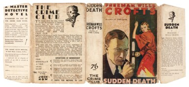 View 3. Thumbnail of Lot 78. Freeman Wills Crofts | Sudden Death, 1932.