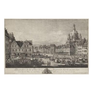 BERNARDO BELLOTTO (1721-1780) PERSPECTIVE DE LA PLACE DE LA GRANDE GARDE (DE VESME 15)