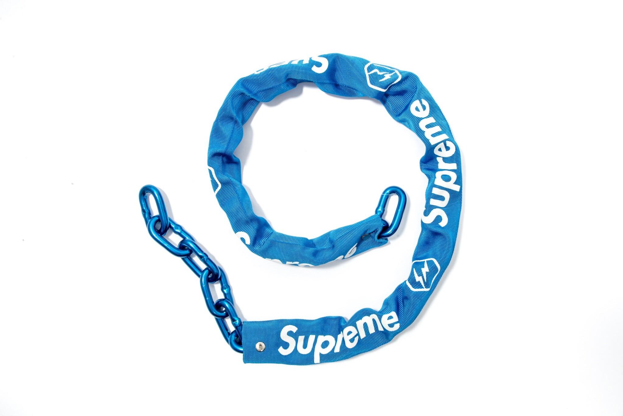 SUPREME x FRAGMENT BIKE CHAIN BLUE