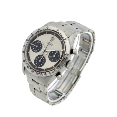 View 2. Thumbnail of Lot 279. Reference 6239 'Paul Newman' Daytona  A stainless steel chronograph wristwatch, Circa 1968.