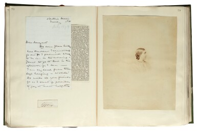 AUTOGRAPH ALBUMS | c.1500 items, in 3 volumes, with index volume