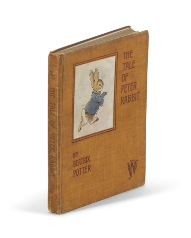 POTTER | The Tale of Peter Rabbit, 1902, deluxe first edition