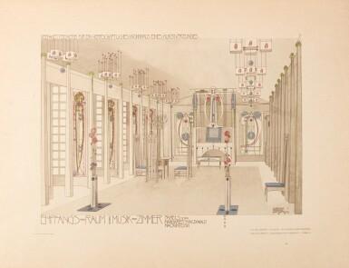 Mackintosh, Baillie Scott and Bauer, Meister der Innen-Kunst, Damstadt, [1902]
