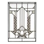 "FRANK LLOYD WRIGHT   WINDOW FROM THE FRANCIS W. LITTLE HOUSE, ""NORTHOME,"" WAYZATA, MINNESOTA"