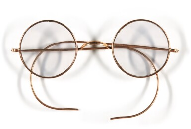 View 1. Thumbnail of Lot 38. JOHN LENNON | Pair of round Windsor spectacles.