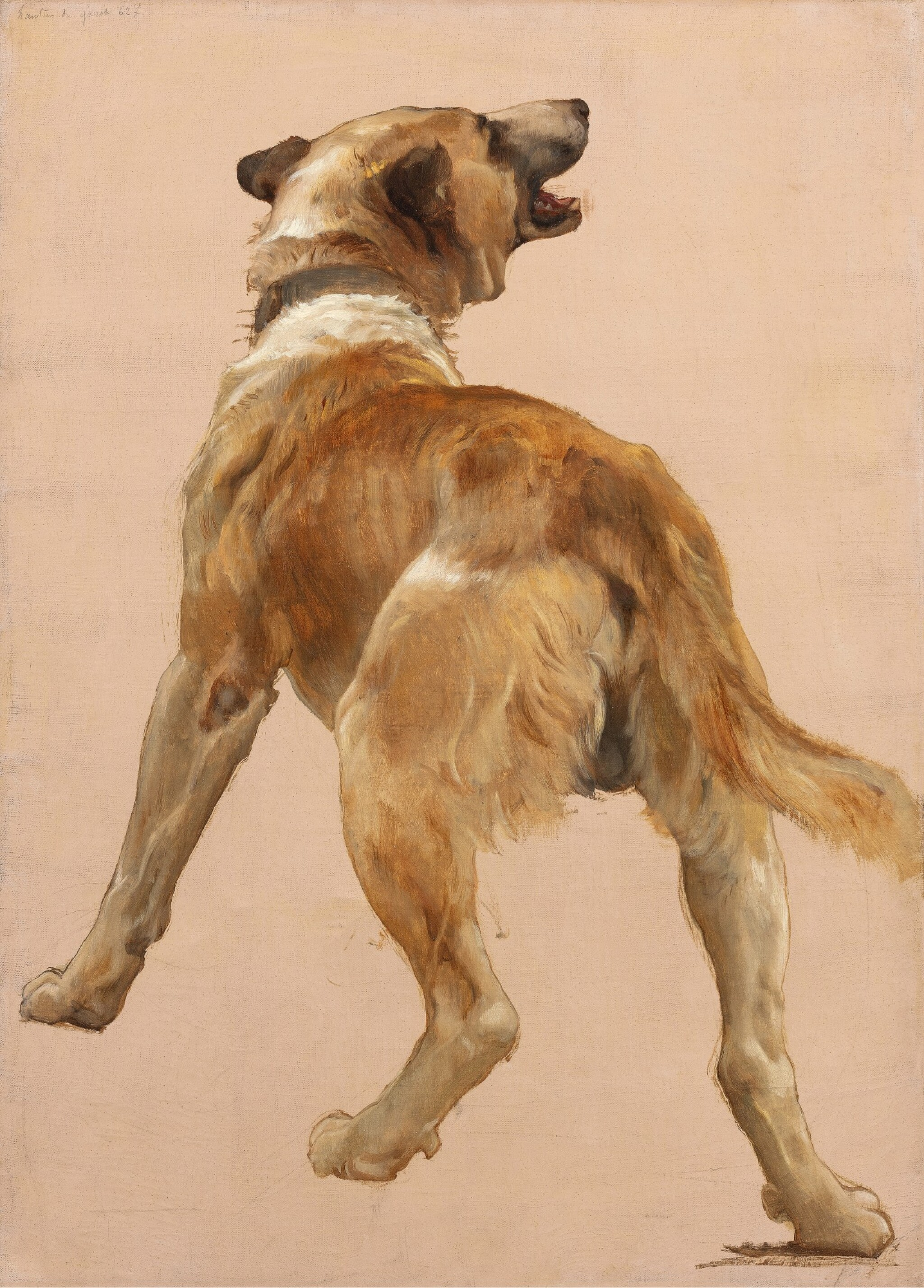 View full screen - View 1 of Lot 674. Study of the Dog of Homѐre et son guide.