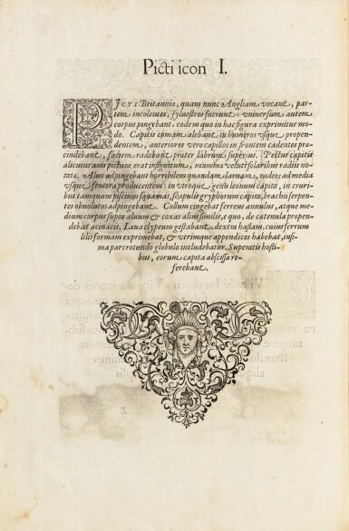 View 4. Thumbnail of Lot 198. [Grands voyages]. Frankfurt, Johann Wechel, 1590-1625.12 parties en 4 volumes in-folio. Vélin ancien..