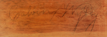 IMPORTANT CHIPPENDALE CARVED AND FIGURED CHERRYWOOD SERPENTINE CHEST OF DRAWERS, CALVIN WILLEY, PROBABLY LENOX, MASSACHUSETTS, CIRCA 1790