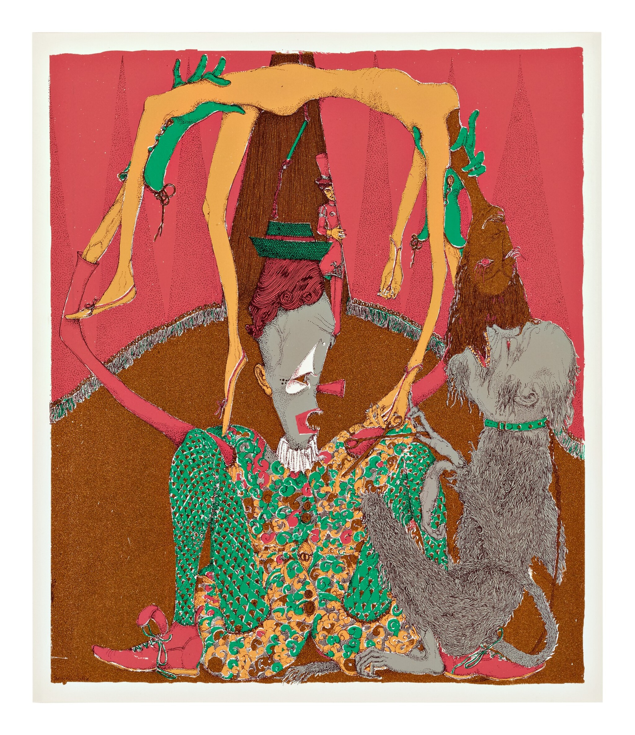 View full screen - View 1 of Lot 17. KAI ALTHOFF   UNTITLED.