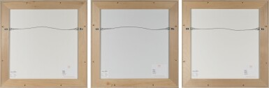 View 2. Thumbnail of Lot 62. PETER GEE   UNTITLED [3 WORKS].