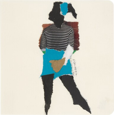 View 4. Thumbnail of Lot 801. DEBORAH ROBERTS | THE HISTORY OF EVERYTHING, PART THREE.