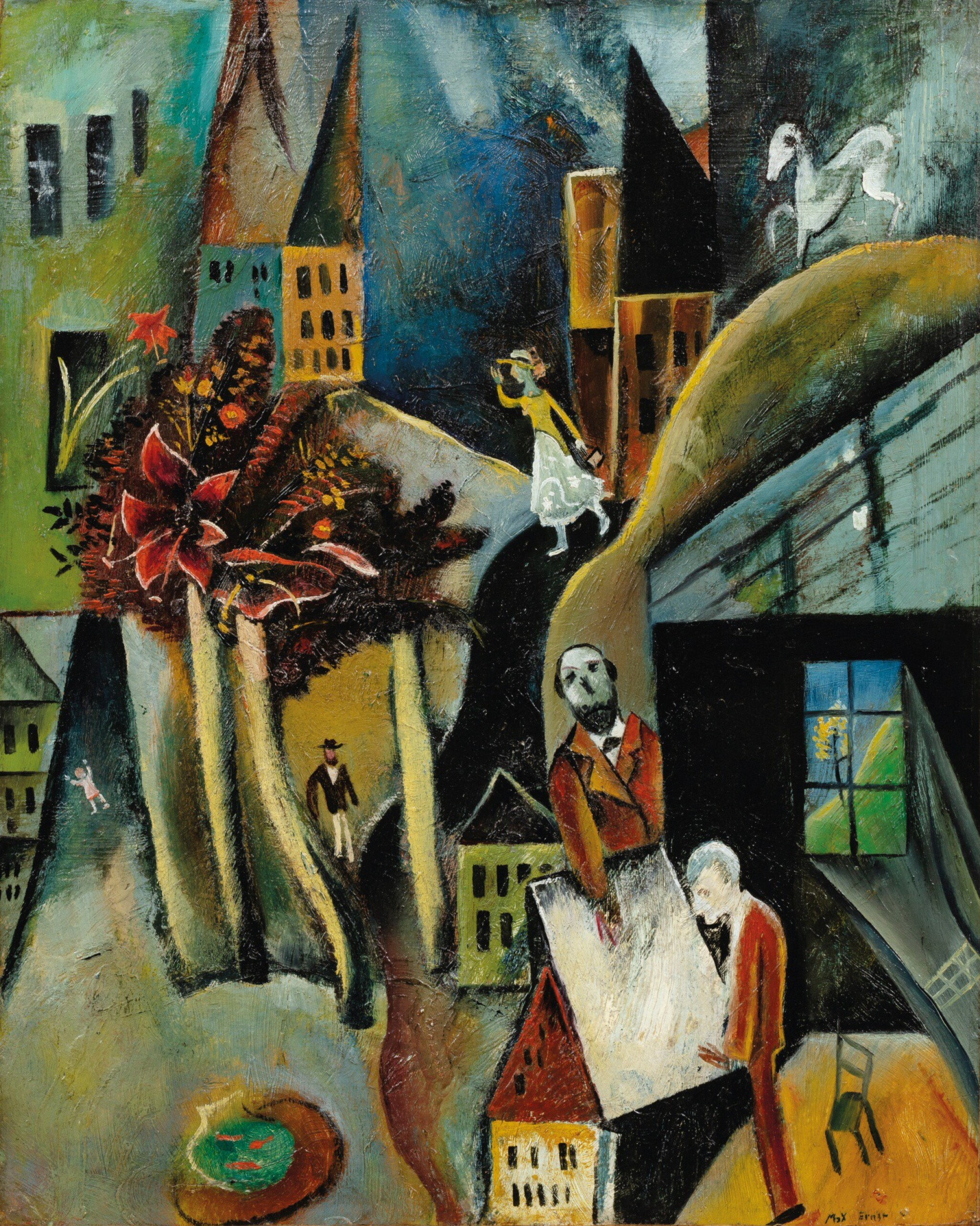 View full screen - View 1 of Lot 7. MAX ERNST | OHNE TITEL (UNTITLED).
