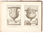 Aquila, Raccolta di vasi diversi, Rome, 1713, contemporary mottled calf