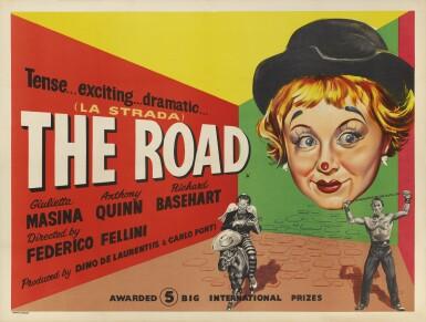 La Strada / The Road (1955) poster, British