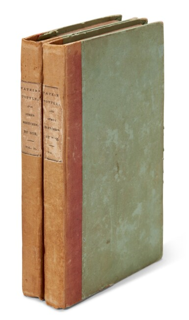 [Dickens], Watkins Tottle, and Other Sketches, 1836, first American edition of 'Sketches by Boz'