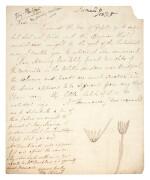 Elizabeth Philpot   Autograph letter signed, to William Buckland, 26 June 1835