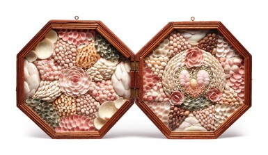 Two Fine Shellwork Sailor's Valentines, Probably Barbados, circa 1880