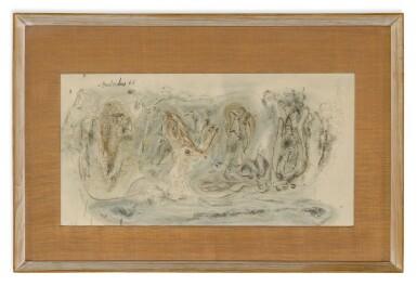 View 3. Thumbnail of Lot 1837. AMBADAS KHOBRAGADE | UNTITLED (SET OF THREE) .