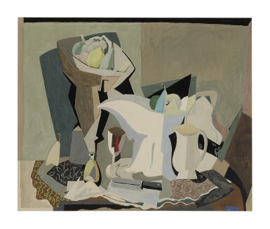 EARL HORTER | STUDY FOR TABLETOP ABSTRACTION