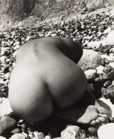 View 1. Thumbnail of Lot 31. BILL BRANDT | NUDE & STONES (EAST SUSSEX), 1978.