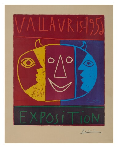 View 1. Thumbnail of Lot 4. PABLO PICASSO | VALLAURIS 1956 EXPOSITION (B. 1271; BA. 1042; CZWIKLITZER 19).