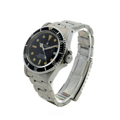 View 2. Thumbnail of Lot 110. ROLEX   REFERENCE 1665 SEA-DWELLER 'GREAT WHITE' A STAINLESS STEEL AUTOMATIC WRISTWATCH WITH DATE AND BRACELET, CIRCA 1980.