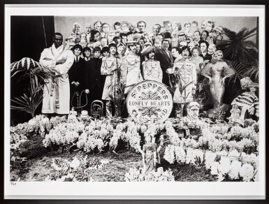 View 2. Thumbnail of Lot 45. MICHAEL COOPER | Sgt Pepper's Lonely Hearts Club Band, 1967, silver print, numbered 1/25.