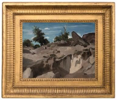 View 2. Thumbnail of Lot 642. Forêt de Fontainebleau - Au plateau brûlé.