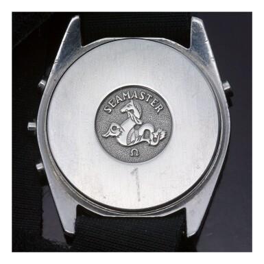 OMEGA | SPEEDMASTER ST 186.004 'ALASKA IV PROTOTYPE NO. 1/12', A LIMITED EDITION STAINLESS STEEL QUARTZ DIGITAL SPLIT CHRONOGRAPH WRISTWATCH, MADE IN 1978