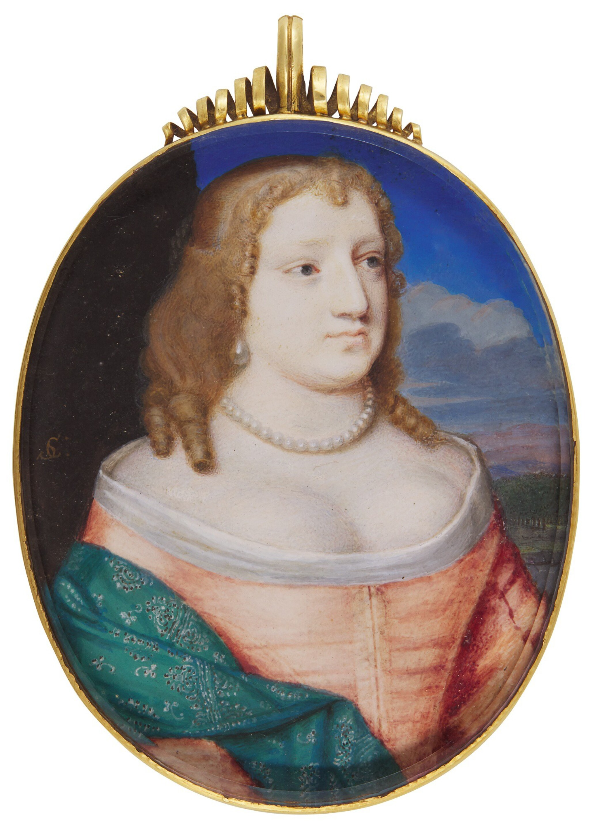 View full screen - View 1 of Lot 219. SAMUEL COOPER | PORTRAIT OF A LADY TRADITIONALLY IDENTIFIED AS MARY PAULET, MARCHIONESS OF WINCHESTER, CIRCA 1660.