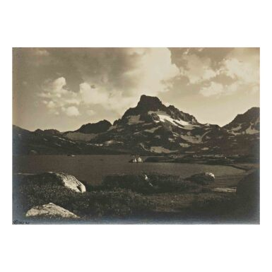 View 1. Thumbnail of Lot 79. 'Thousand Island Lake and Banner Peak at Sunset'.