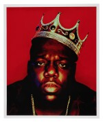 [THE NOTORIOUS B.I.G.] BARRON CLAIBORNE | The crown worn by Biggie when photographed as the King of New York, 1997.