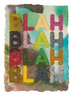 MEL BOCHNER   BLAH, BLAH, BLAH