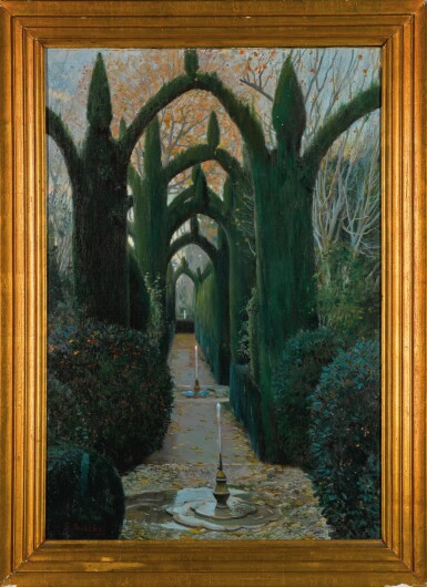 View 2. Thumbnail of Lot 76. The Generalife Gardens, Granada.