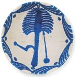A LARGE ABBASID TIN-GLAZED POTTERY BOWL, IRAQ, 9TH CENTURY